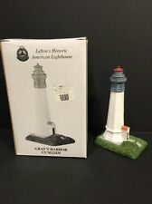 1999 Lefton's Historic American lighthouse Gray's Harbor Ccm12435