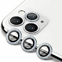 For iPhone 11 12/mini/Pro/Pro Max Bling Diamond Camera Lens Protector Cover Ring