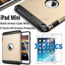 Child/Shock Proof Kids Cover Case Screen Films for Apple iPad Mini 1 2 3 Tablet