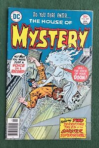 House of Mystery #249 DC Comics Bronze Age monsters ghosts unexpected g/vg