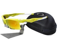 Oakley Custom FAST JACKET XL Lemon Peel Frame Fire Lens Mens Sport Sunglasses .