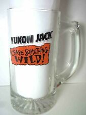 Glass mug Yukon Jack Chase Something Wild  tankard stein