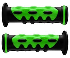 YAMAHA ATV BIG BEAR BREEZE BRUIN KODIAK TIMBERWOLF GREEN KNOBBY GEL HAND GRIPS