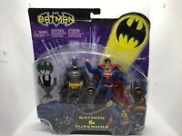 DC Super Heroes Select Sculpt Series SUPERMAN & BATMAN 2-PACK