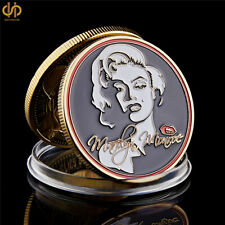 1962 Marilyn Monroe Sexy Commemorative Gold Plated Coin Collection Gifts