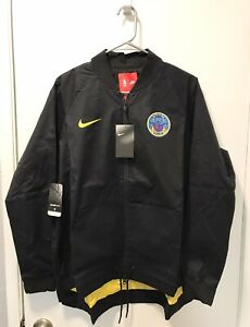 Nike Golden State Warriors The Bay Jacket NBA Black Womens Size XL 899079-010