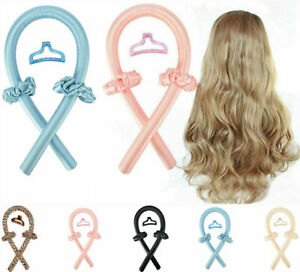 Heatless Curling Rod Headband Curls Silk Curler Hair Roller Soft Wave Formers