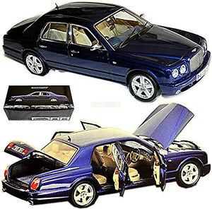Bentley Arnage T Limousine 2002-06 Bleu Métallique 1:18 Minichamps 100139400