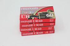 Maxell UR60 Blank Cassettes - KB5