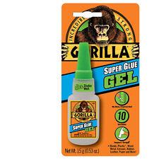Gorilla Adhésif Collage Super Colle - Gel - 15g Bouteille