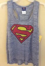 Ladies Supergirl Movie Tank Top XXLarge 19 DC Comics Man Of Steel Superman