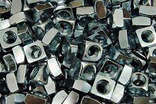 (75) Zinc Plated 5/8-11 Square Nut - Coarse Thread