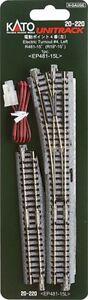 Kato 20-220 N Unitrack #4 LH Electric Turnout