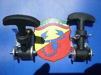COPPIA GANCI TIPO ABARTH COFANO PER FIAT 500 MISURA PICCOLA LUNGHEZZA 7CM SP074