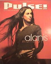 "Alanis Morissette ""Pulse Magazine"" 2002 U.S. Promo Poster - Canada Rocks!"