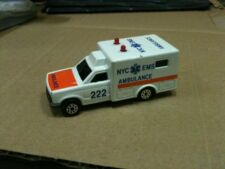 Ambulanza New York Emergency Medical Services Majorette Originale Scala 1/60