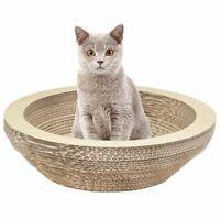 Cat Scratching Lounge Board Corrugated Cardboard Scratcher Cat Scratch Pad T1T6