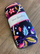 "New Vera Bradley ""Foxwood"" Glasses & Sunglasses Canvas Hard Case"
