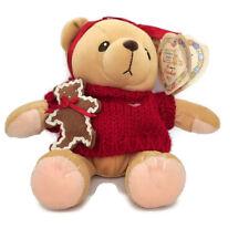 Enesco Cherished Teddies Cookie Plush Bear Christmas Teddy Toy