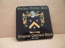 Golden Valley Original Oatmeal Stout Ale Beer Pump Clip Face Pub Bar Collectible
