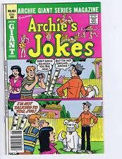 Archie Giant Series Magazine Presents #483 Archie Pub 1979