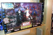 MARVEL LEGENDS URBAN LEGENDS with Daredevil, Elektra, The Punisher & Spider-Man