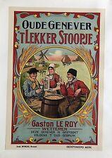 Original Vintage Poster Oude Genever ca. 1905