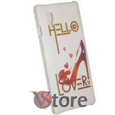 Cover for LG L9 P760 Hello Lover Rigid