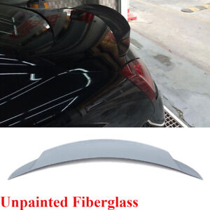 Fit For Infiniti G37 Coupe 2009-2013 Rear Trunk Spoiler Boot Wing Lip Unpainted