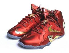 DS LEBRON ELITE SE CHAMPIONSHIP 695226-670 UNIVERSITY RED METALLIC GOLD size 13