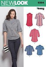 6407 camisas de misses /& Prendas para el torso fácil nuevo aspecto de patrón de costura Tallas 10-22