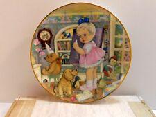 Carol Lawson Teachers Pet Collector Plate 1982 Franklin Porcelain Inbox