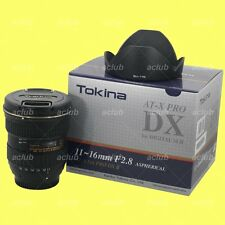 Genuine Tokina AT-X 116 Pro DX-II AF 11-16mm f/2.8 Lens for Nikon