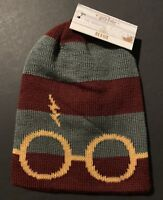 Harry Potter Gryffindor Knit Beanie Hat Winter EXCLUSIVE CultureFly RARE
