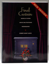 Final Curtain deaths of Hollywood movie and TV stars new edition Everett Jarvis