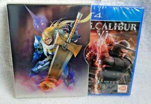 Soul Calibur 6 VI Steelbook UK 365.co.uk exclusive PS5 new Metal slip case Boxed