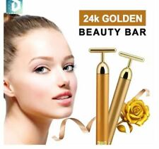 DUNSPEN  Beauty Bar 24k Golden Pulse Facial Massager