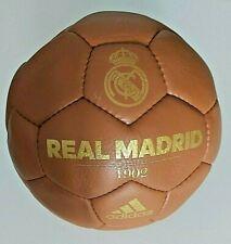 Adidas - Baile Real Madrid Fútbol Retro Balón de Entrenamiento Tamaño 5 Braun