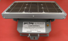NEW Fence Master Electric Solar 12v Fence Charger, Energizer, Fencer