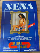 Erotik Kinoplakat ** NENA TEIL 2 Raven Ribu