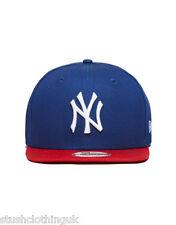New Era 9FIFTY MLB New York Yankees Cotton Block Snapback Cap Red (NECAP001)