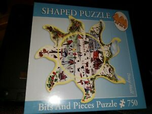 Bits And Pieces 47708 Winter Sun 750 pc shaped jigsaw puzzle, Tracy Hall, sealed