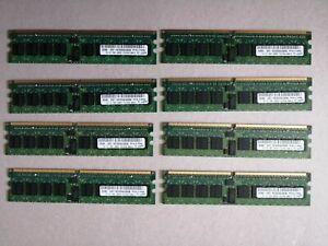 Samsung M393T6553CZA-CE6 512 MB DDR2 RAM PC2-5300 667MHz ECC x 8 = 4GB