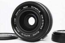 Near Mint OLYMPUS OM-SYSTEM ZUIKO AUTO-W 35mm F2.8 Lens from Japan