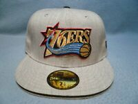 New Era 59fifty Philadelphia 76ers Heather Slice BRAND NEW Fitted cap hat Sixers