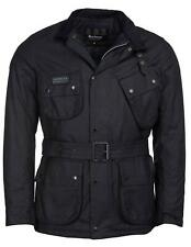 NEW F/W 20/21 BARBOUR MWX1711 BARBOUR INTERNATIONAL COLOURED SL WAXED BLACK