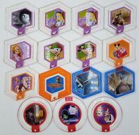 Disney Infinity 1.0 2.0 3.0 Power 15 Disc Lot Xbox ONE 360 PS4 PS3 Wii U 3DS `