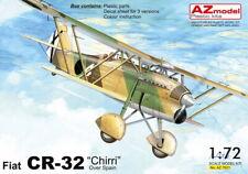 """AZ Models 1/72 Kit 7621 Fiat CR-32 Chirri """"Over Spain"""""""