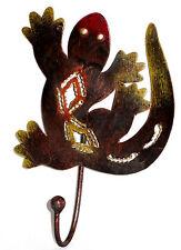 Crochet Patère Porte Serviette Porte Manteau Fer Forgé Métal gecko salamandre