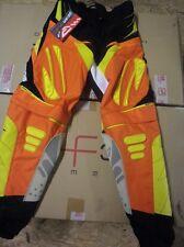 pantalon cross quad ORANGE KTM  FIRTSRACING usa 32 //taille  française 40 neuf